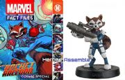Marvel Fact Files Cosmic Special #1 Rocket Raccoon With Figurine Eaglemoss